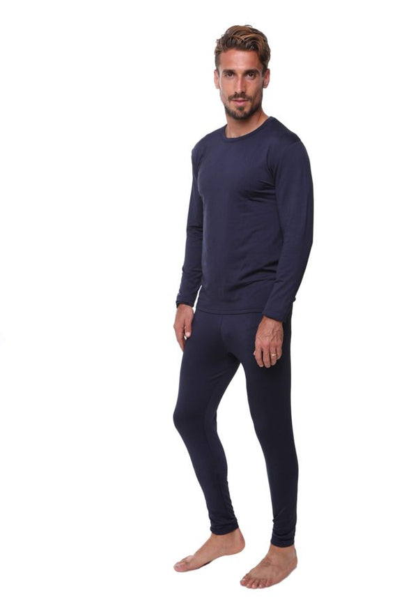 Ultra Dry Men's Thermal Set, Shirt and Pants Black