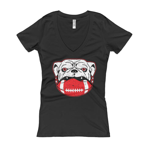 Dawg On It - Ladies' V-Neck t-shirt