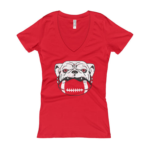 Dawg On It - Women's V-Neck t-shirt