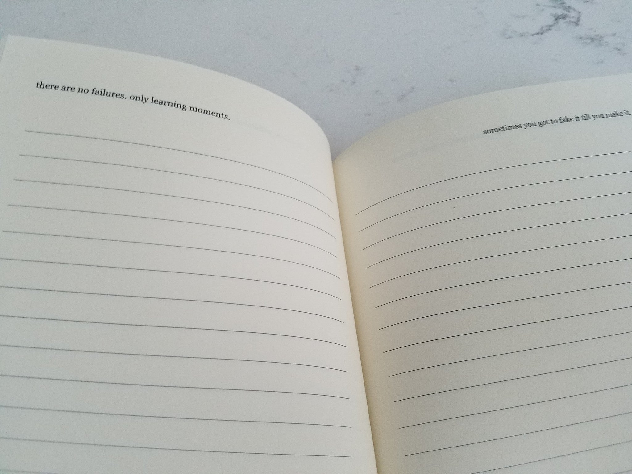 Daily Success Mantra notebook – cemeli