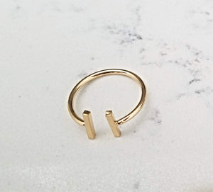 Thin Bar Ring