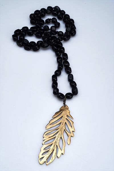 FIRR Series | Necklace Hematite Gold/Silver