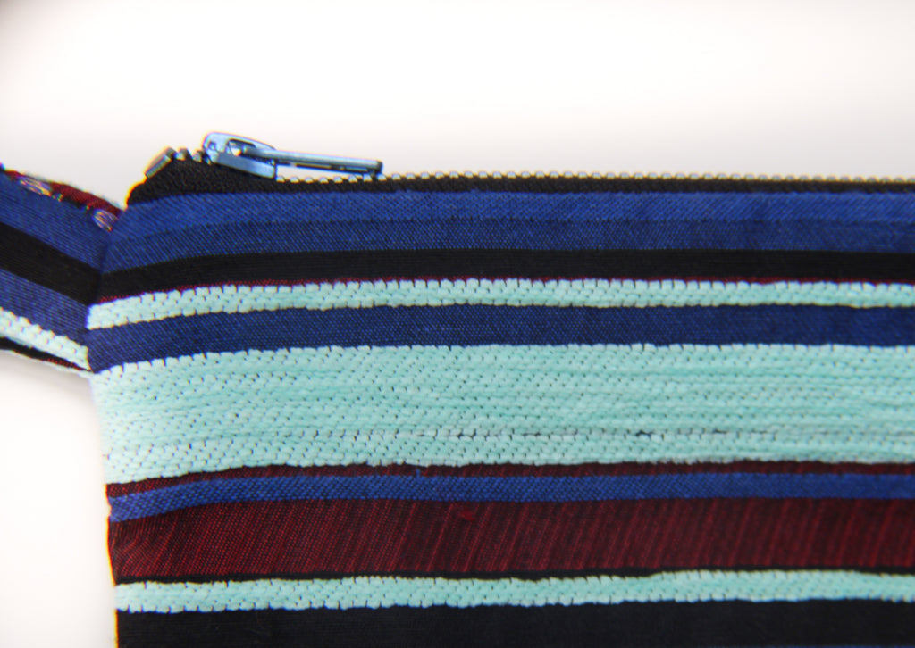 Bleecker Bag | STRIPES AQUA