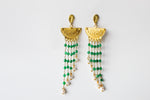 Earrings Miaconda Emerald
