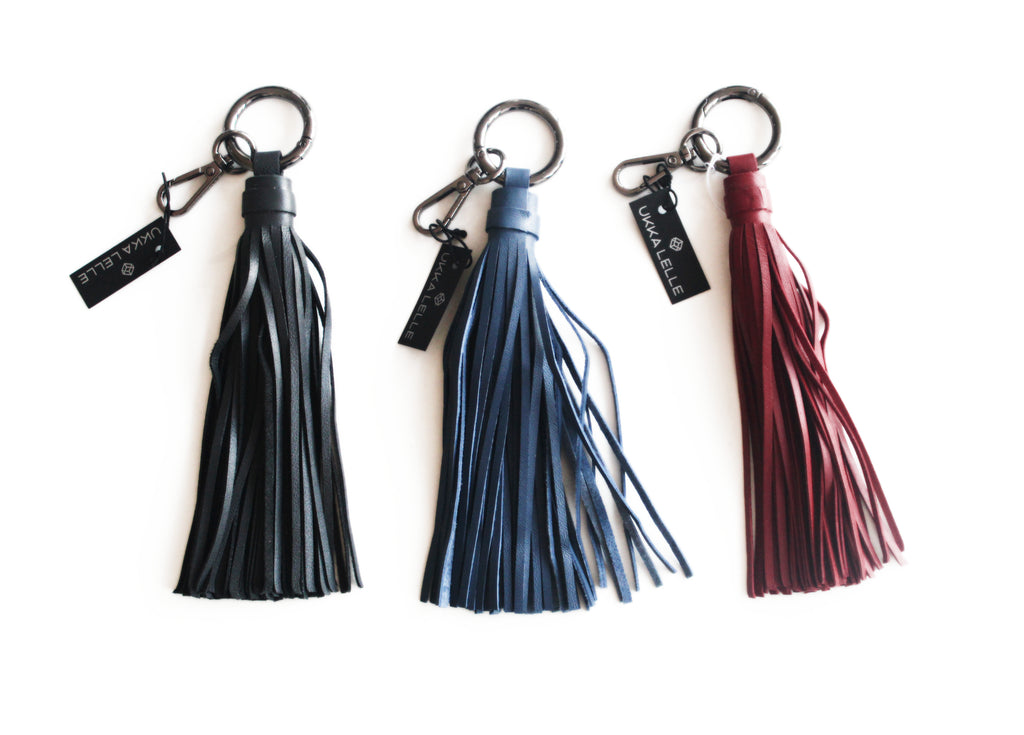 Tassel Key Holder Leather