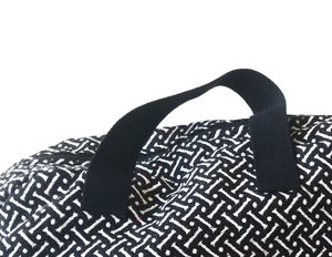 Weekend Bag | Bones Black