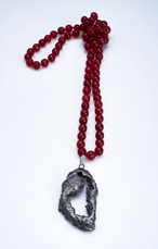 Piedra Ruby Long Necklace