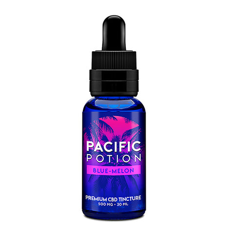 Blue-Melon CBD Tincture - Pacific Potion CBD