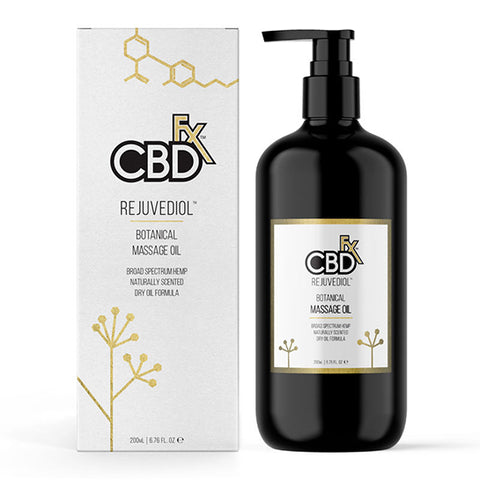 CBDfx CBD Massage Oil with Rejuvediol