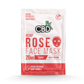 CBDfx CBD Rose Face Mask