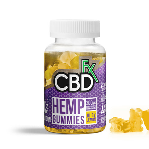 CBDfx CBD Melatonin Gummies - 300mg (60 Count)