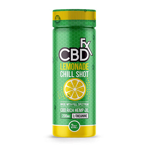 CBDfx CBD Chill Shot - Lemonade Flavor - 20mg