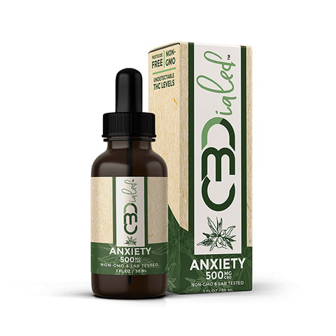 CBDialed Broad-Spectrum CBD Tincture - Anxiety