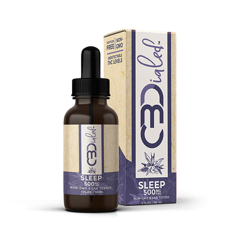 CBDialed Broad-Spectrum CBD Tincture - Sleep