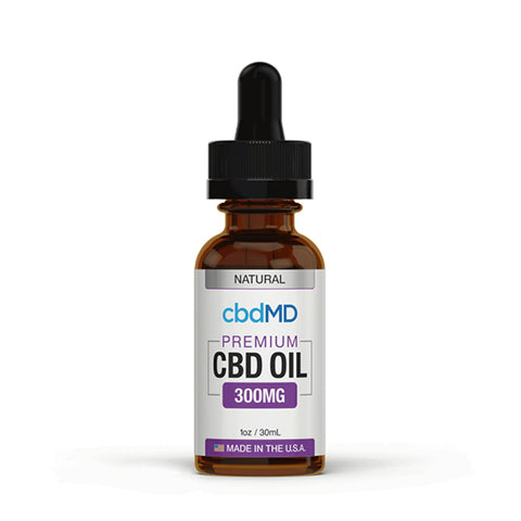 CbdMD Natural CBD Oil Tincture