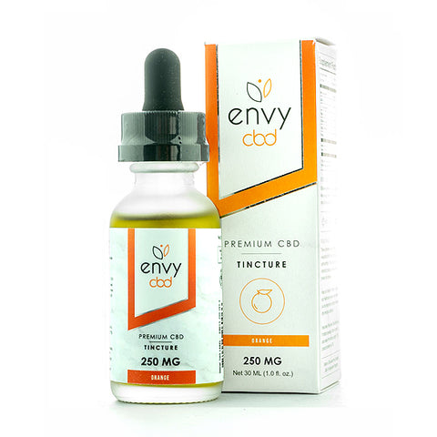 Envy CBD Full-Spectrum CBD Tincture - Orange