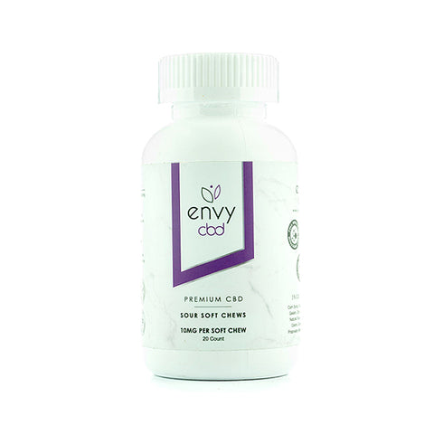 Envy CBD Sour Soft Chews - Full Spectrum