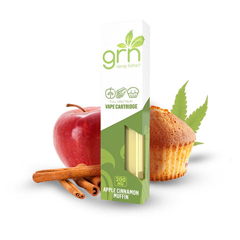 GRN Apple Cinnamon CBD Vape Cartridge