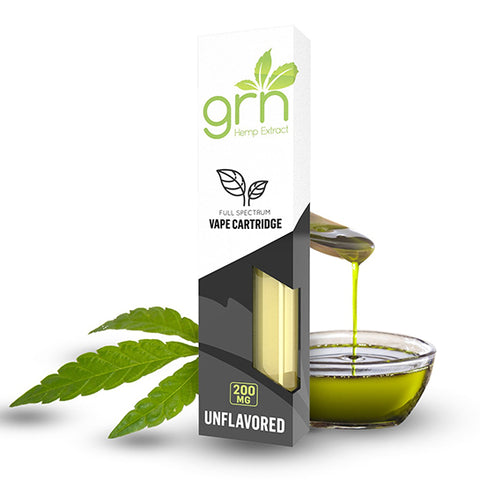 GRN Natural Boost CBD Vape Cartridge