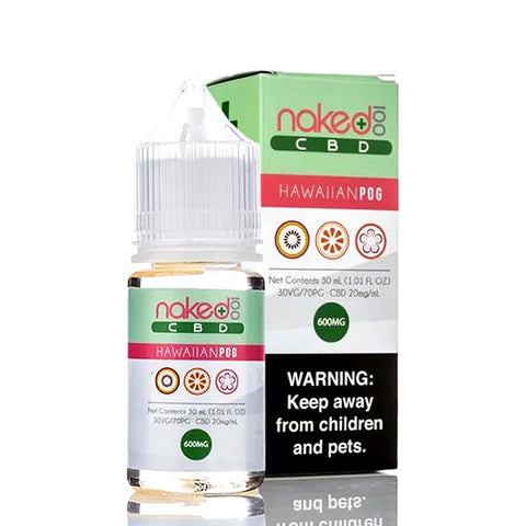 Hawaiian Pog CBD Vape Juice by Naked 100 CBD