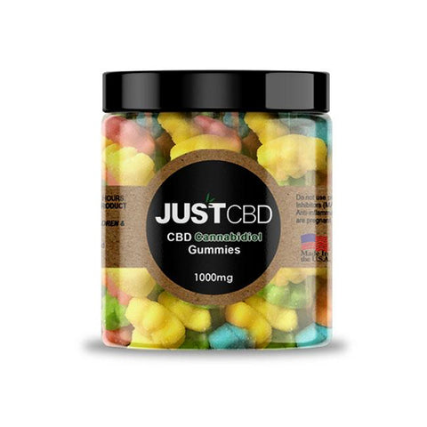 Sour CBD Gummy Bears by JustCBD