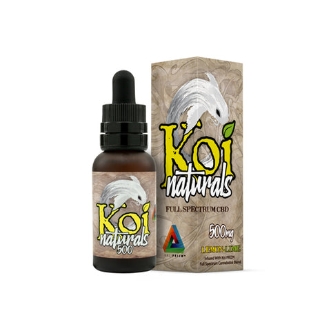 Koi Naturals CBD Oil Tincture - Lemon-Lime