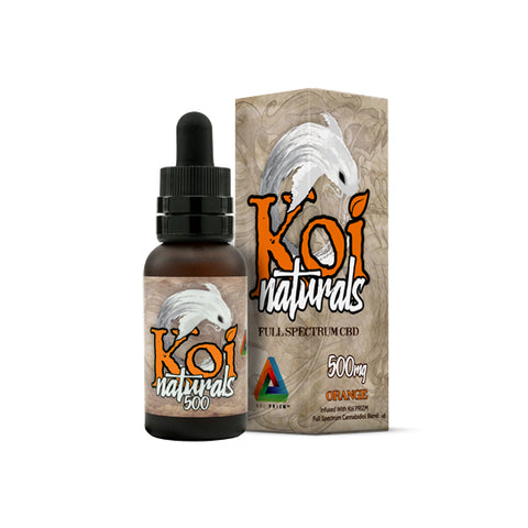 Koi Naturals CBD Oil Tincture - Orange