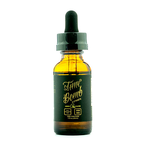 Lemon CBD Tincture - Time Bomb Extracts