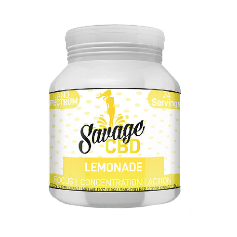 Savage CBD Drink Powder - Lemonade