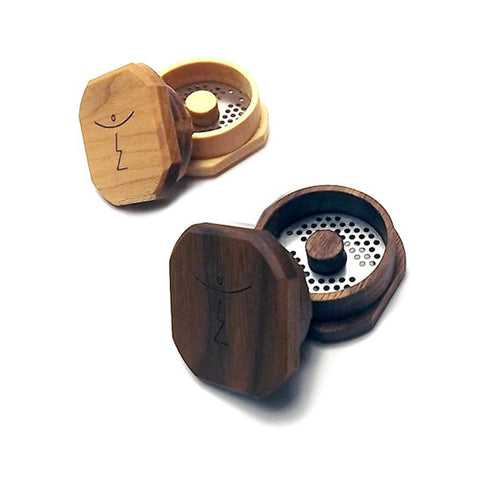 Magic Flight Finishing Grinder - Wood Herb Grinder