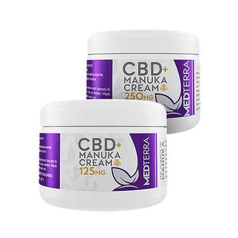 MedTerra CBD Manuka Honey Cream