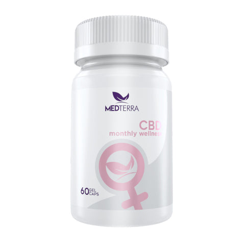 MedTerra CBD Women's Monthly Wellness Capsules