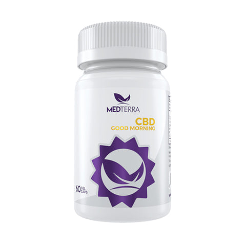 MedTerra Good Morning CBD Capsules (60 Count)