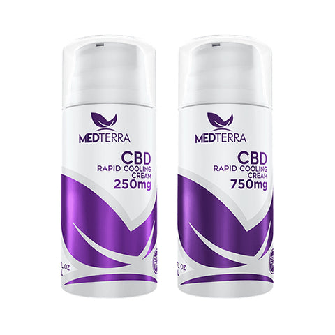 MedTerra CBD Rapid Cooling Cream