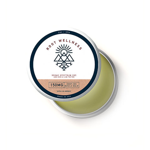 Root Wellness CBD Menthol Muscle Balm