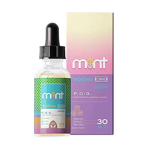 Mint Wellness CBD Oil Tincture - POG