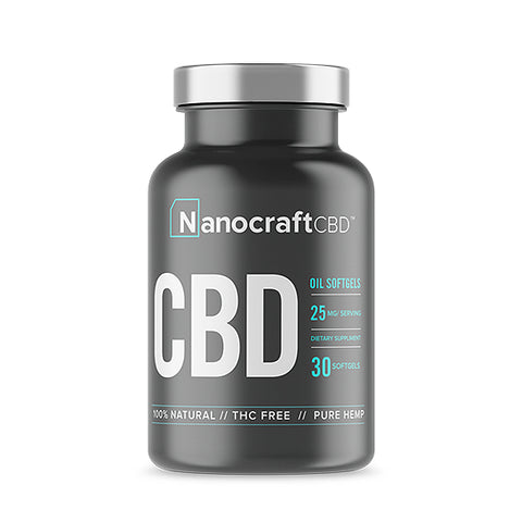 Nanocraft CBD Full Spectrum CBD Softgels