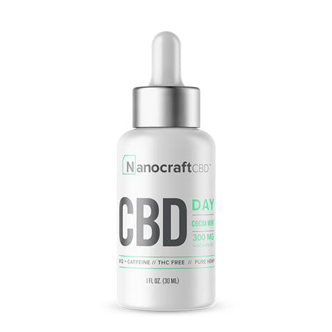 Nanocraft CBD Oil Tincture - Day Formula