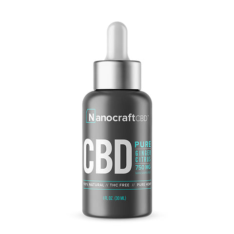 Nanocraft CBD Oil Tincture - Ginger Citrus