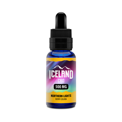 Northern Lights Vape Juice - Iceland CBD