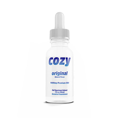 Cozy CBD Full Spectrum 1000mg Tincture - Original