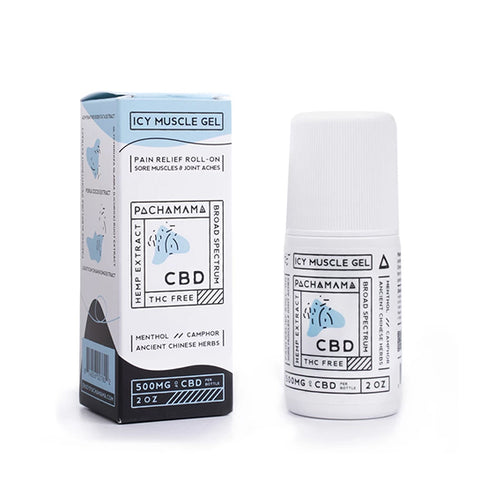 Pachamama CBD Icy Muscle Gel Roll-On