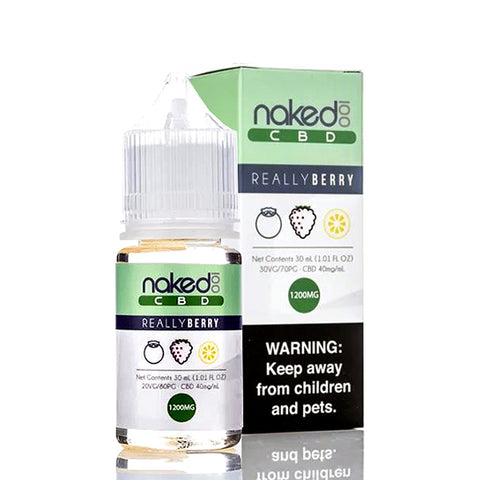 Really Berry CBD Vape Juice by Naked 100 CBD