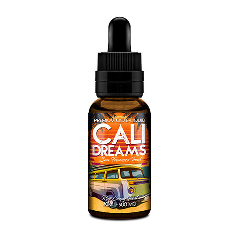 San Francisco Treat CBD Vape Juice - Cali Dreams CBD