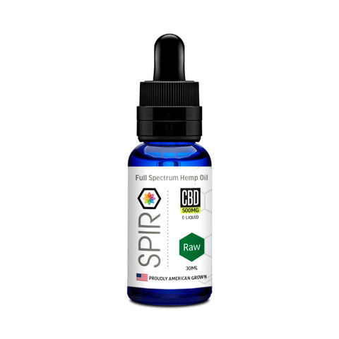 Spiro Full Spectrum CBD Vape Juice - Raw