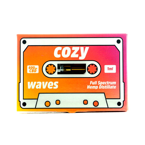 Waves CBD Vape Cartridge - Cozy CBD (600mg)