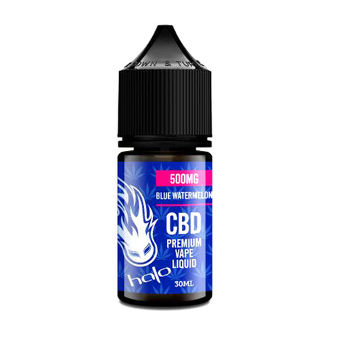 Blue Watermelon CBD Vape Juice - Halo CBD