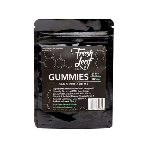What Are CBD Gummies' Ingredients?