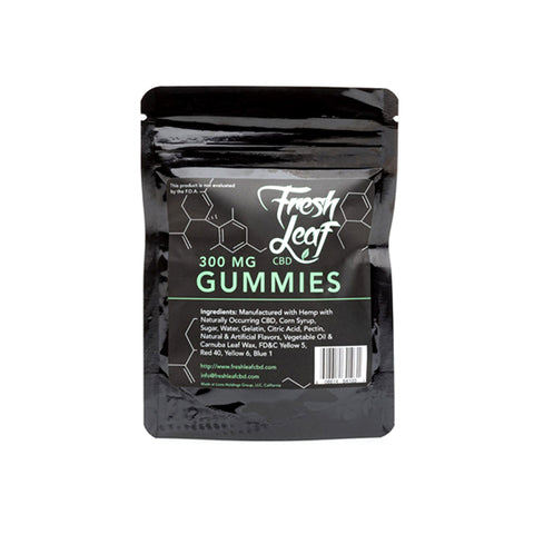 FreshLeaf CBD Gummies - 300mg (6 Count)