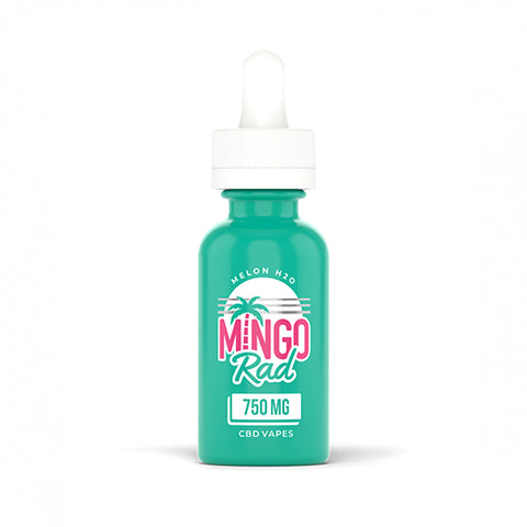 Mingo Rad Melon H20 CBD Vape Oil - Vape Juice by CbdMD